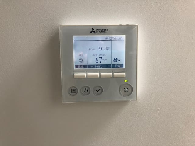 Central heat and AC for your comfort-
