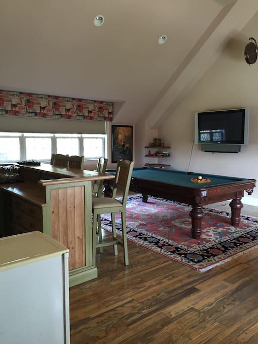 TV & Pool Room