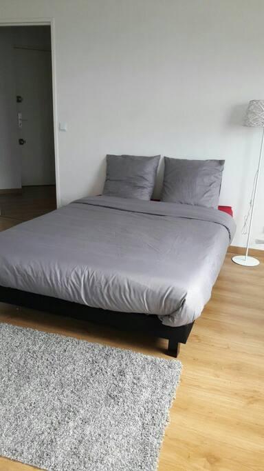 3 pi ces connect avec balcon ferm flats for rent in for Chambre communiquante