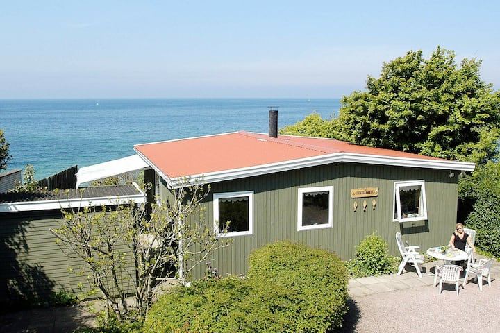 Quaint Holiday Home in Bornholm with Baltic Sea View