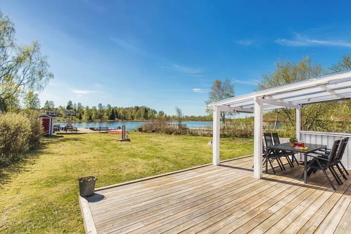 Summer dream 30 metres from lake Hjälmaren