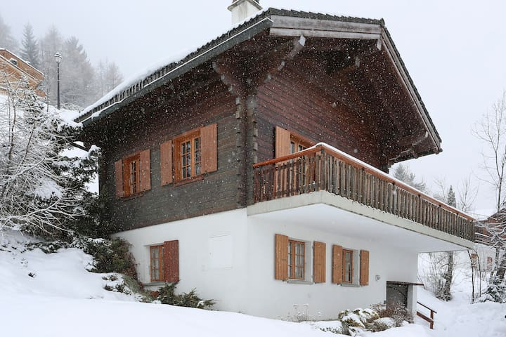 Ski chalet with amazing views - Haute-Nendaz - Casa