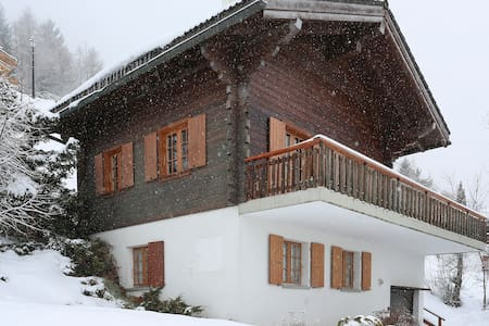 Ski chalet with amazing views - Haute-Nendaz