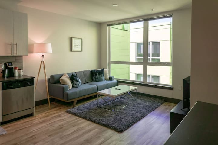 Modern 1BD-Apt near Pike Place Market Waterfront