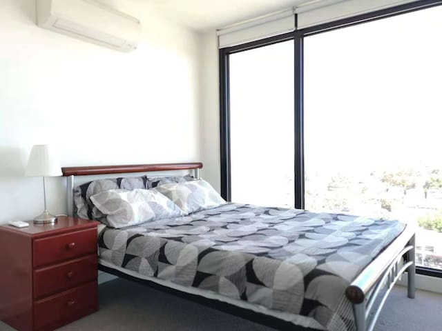 Master Bedroom With Stunning Bay View