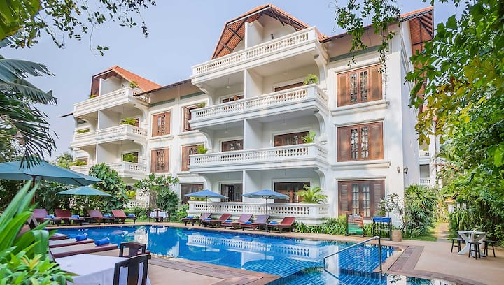 2BR Serviced Apartment+BF. @ChâteauD'Angkor(1)