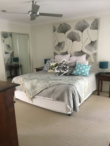 Master Bedroom with walk in robe & Ensuite.