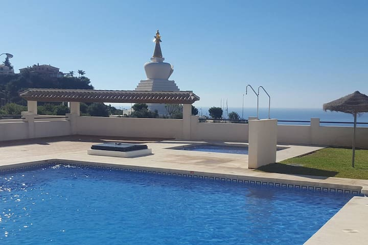 Beautiful apartment 2 bedrooms next to Butterfly park in Benalmadena