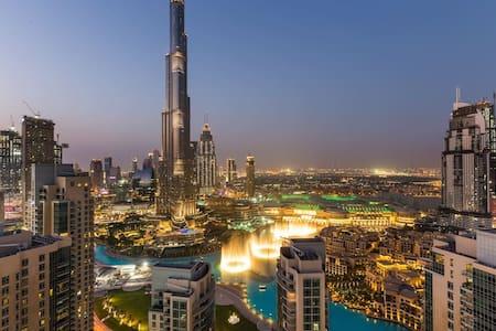 Full Burj Khalifa & Fountain views - 2BR Apt *4105