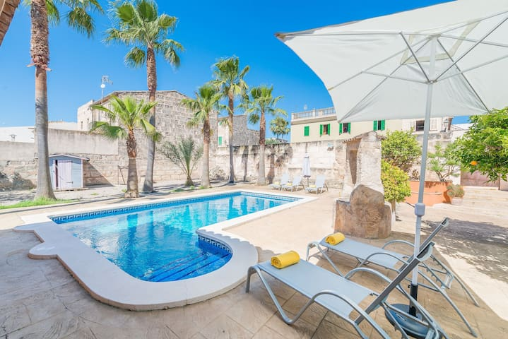 Sa Verdera :) Cozy townhouse with swimming pool