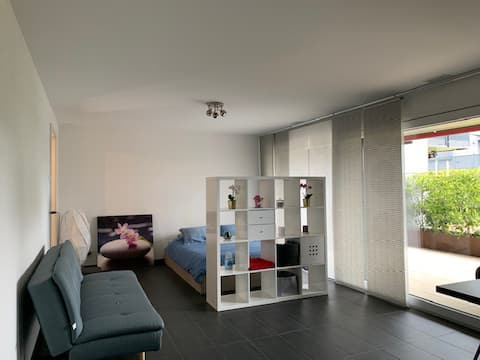 Studio avec terrasse à Saint Blaise, Neuchâtel