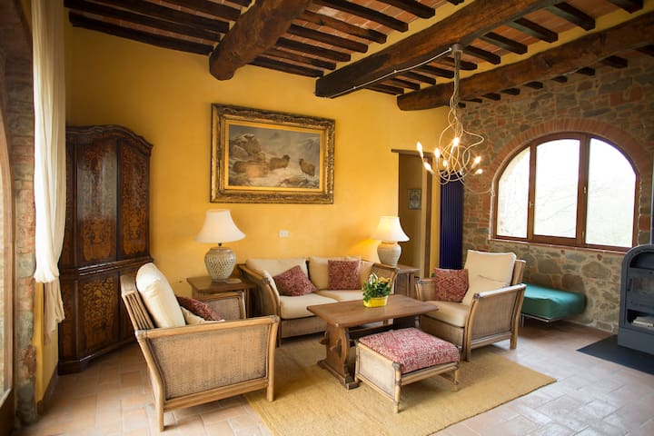 "THE ""ARCHES"" AT PODERE SAN DONATO - Pergine Valdarno - Appartement"