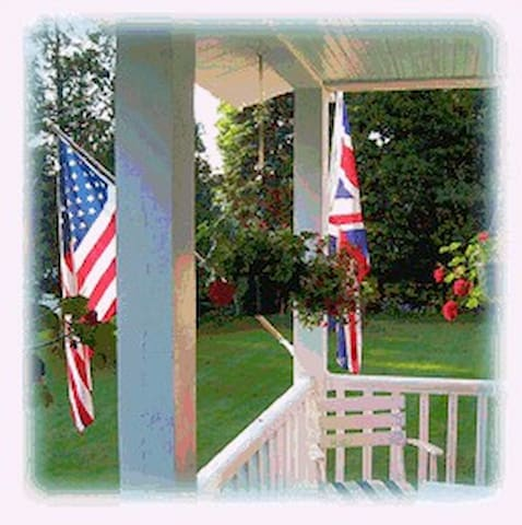 The Inn with an Anglo-American touch