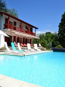 Great villa basque with heated pool near Biarritz - Cambo-les-Bains - 別荘