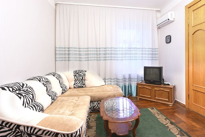 The apartment is located 5 min walk - Kiev - Appartamento