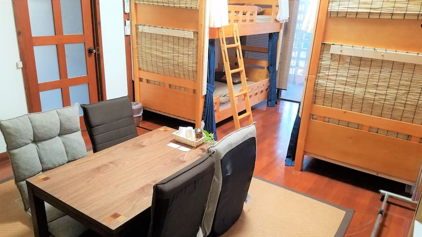 Economy Private Room♪Guesthouse☆Center of Nago☆