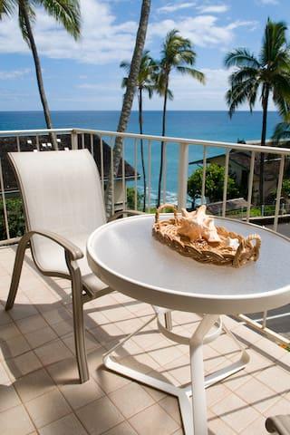 Fabulous Ocean View 1 bedroom Condo - Koloa - Appartement