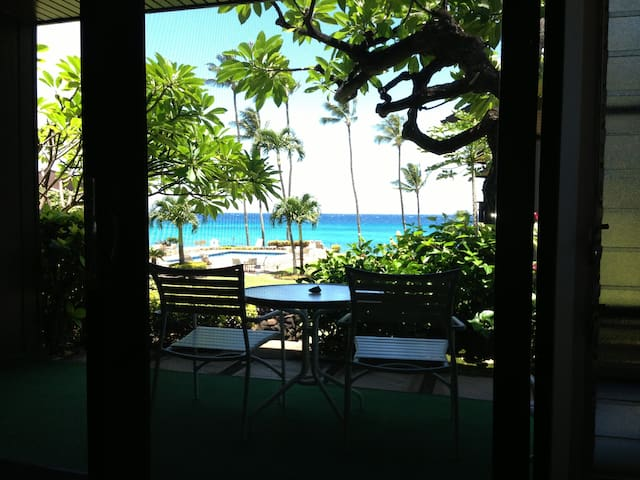 Quiet Ocean Front Apt w/ Pool, BBQ - Lahaina - Apartment