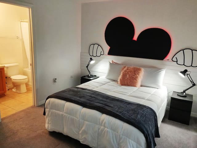 Suíte Mickey Room #3 For your best vacation.