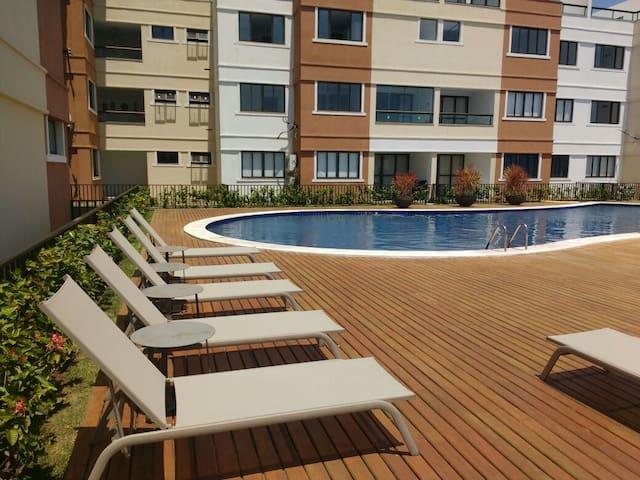 Apartamento 1/4 sala em Guarajuba