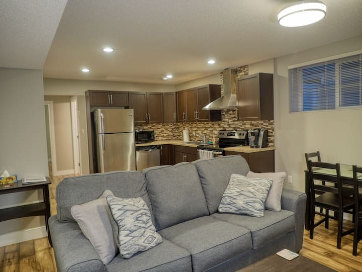 2 Bedroom Basement Suite Near Whyte Avenue