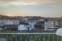 FRIBOURG, Perolles, Top, Terrasse