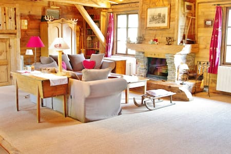 Luxury chalet in the French Alps - Montaimont - Chalé