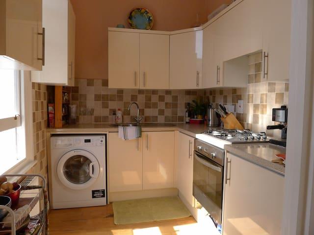 Bright airy kitchen