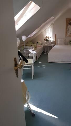 Doppelzimmer mit zusätzlichem Gästebett