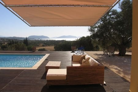 Villa by the Sea  -breathtaking  view of islands.
