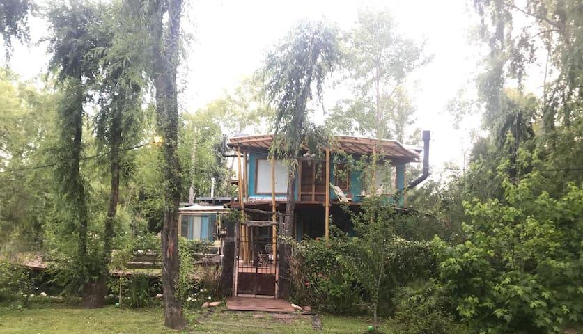 El Refugio casa de rio