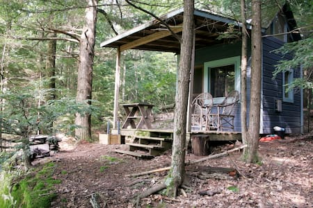 Camping Cabin on Chloe's Lake - Saugerties - Zomerhuis/Cottage