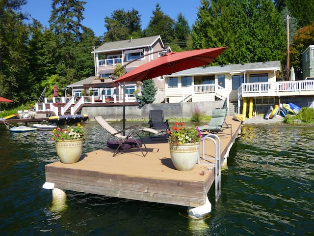 Cottage on Sammamish - Lake House