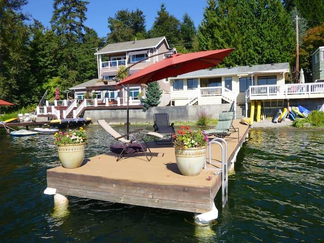 Cottage on Sammamish - Lake House - 瑟馬米甚(Sammamish) - 獨棟
