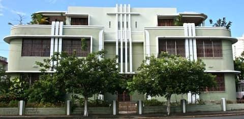 Quarto Privado Alegre na Casa Milaida, San Juan, PR