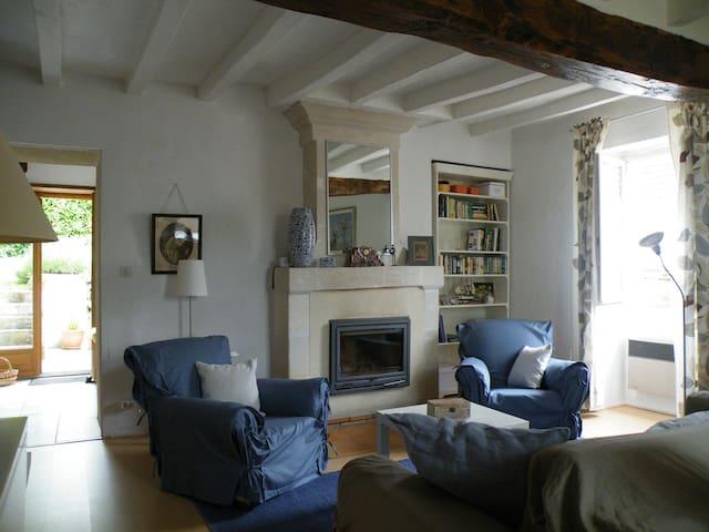 Gite la Maison Marissou - Vallée de la Loire - Huismes