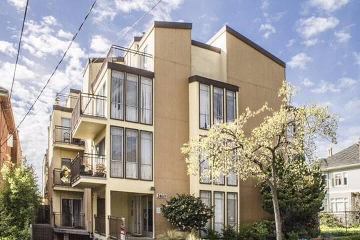 Double in Rooftop Apartment in Berkeley - Berkeley - Apartment