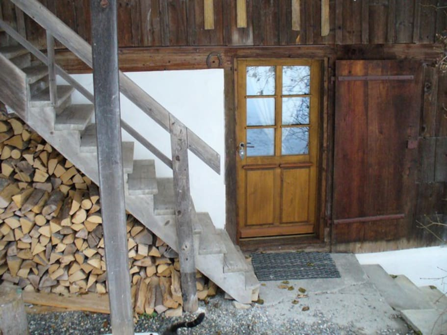 Entrance to Chalet Apartment
