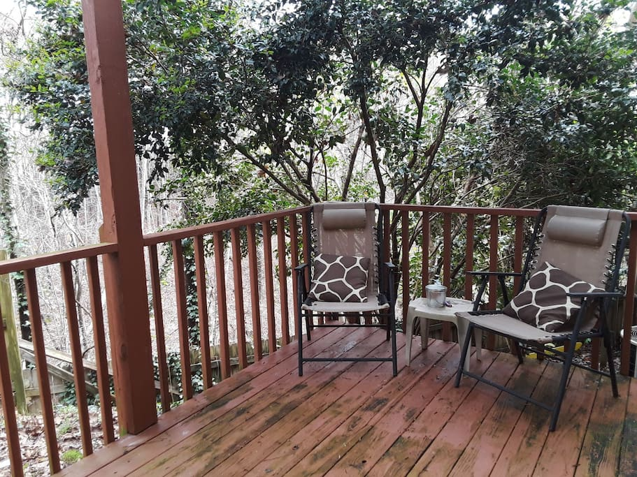 Enjoy and relax on the deck.