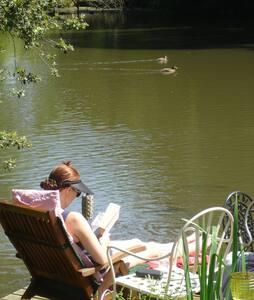 The Shippon, Peaceful B&B by a lake