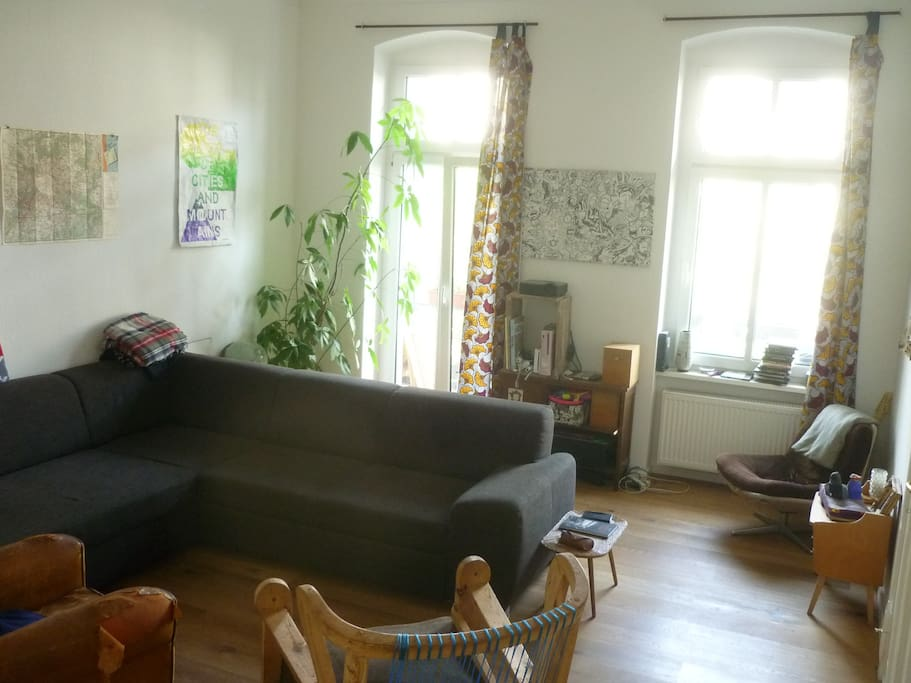 Flat in prenzlauer berg apartments for rent in berlin for Living room 10m2