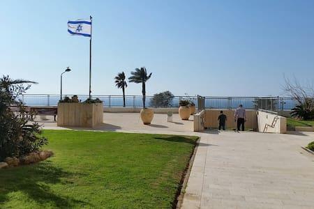 Appartement luxe bord de mer avec piscine - Netanya