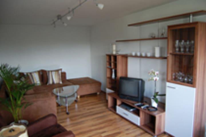 Ferienwohnung Lenneplätze (Winterberg/Lenneplätze) -, Modern eingerichtete Ferienwohnung mit voll ausgestatteter Küche und Terrasse