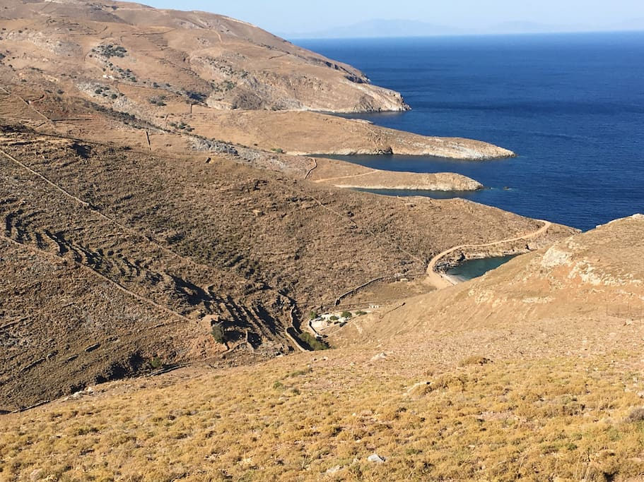 Petrousa Bay, located in the Southeast of the Cycladian Island Kea...