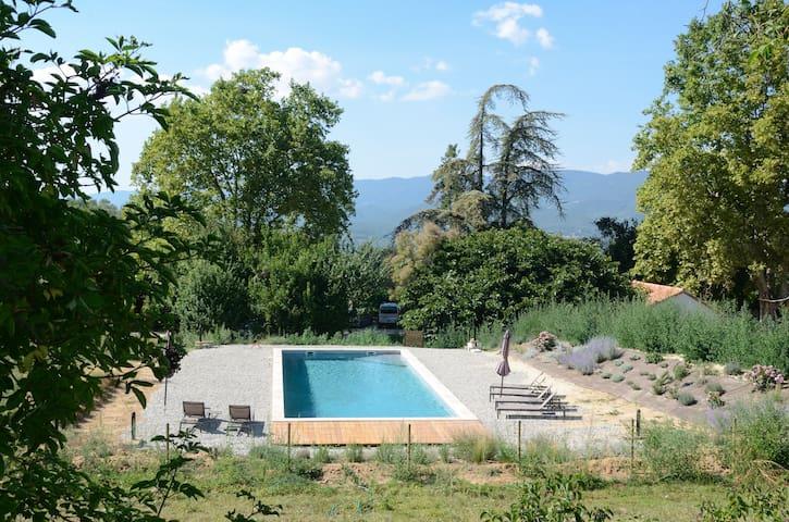 La piscine 15m X 12m