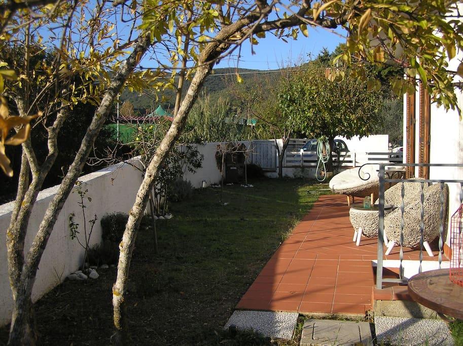 il relax in giardino