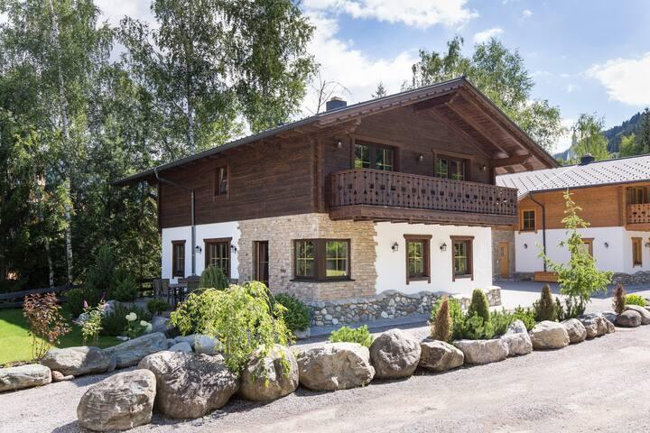 Chalet Alpengarten - Das Dorf in der Stadt