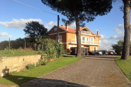 Country villa apartment, Anguillara Lake Bracciano