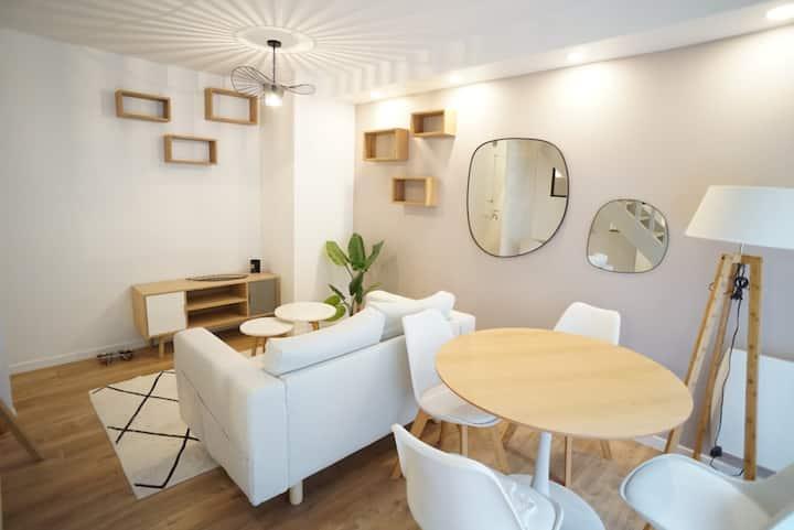 Modern apartment for 3 near the beach