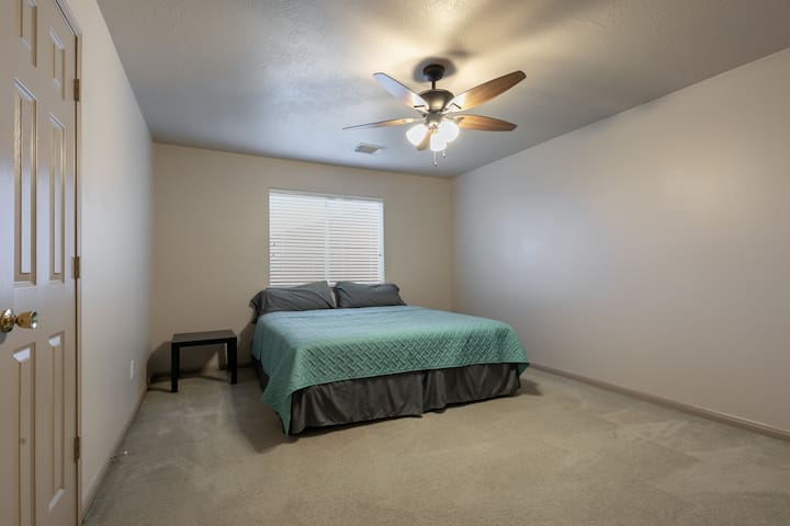Another Upstairs Bed Room; 1 King Bed
